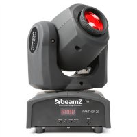 Beamz LED otočná hlavice Panther 25, 1x12 RGBW IR DMX