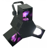 BeamZ LED Triple Flex 3x 24 LED RGB, DMX