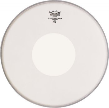 "REMO 14"" Controlled Sound Smooth White so stredom"
