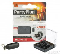 ALPINE PartyPlug Black