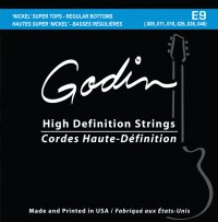 GODIN E-9 Electric High-Definition Strings